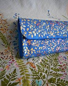 Kabelky - Ručne maľovaná listová kabelka - 10930138_