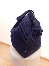 Veľké tašky - modrá je fakt dobrá - 10931148_