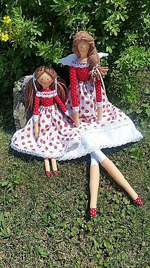 Hračky - Bábiky jahôdkové... - 10932150_