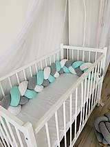Textil - Detský mantinel vysoký - 10930400_