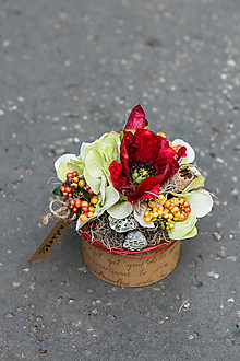 Dekorácie - Flowerbox - NA DEDINE malý - 10930779_