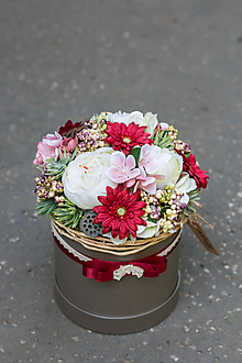 Dekorácie - Flowerbox - MINULOSŤ II - 10930904_