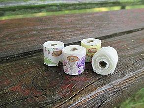Hračky - Mini toaletný papier (pre Barbie) - 10931011_
