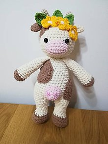 Hračky - Mini kravička - 10931905_