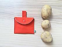 Úžitkový textil - Súprava vreciek na nákup zeleniny - juicy orange - 10931291_