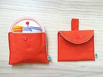 Úžitkový textil - Súprava vreciek na nákup zeleniny - juicy orange - 10931304_