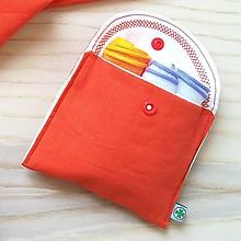 Nákupné tašky - Nákupná súprava vreciek na zeleninu - basic (Juicy Orange) - 10931276_