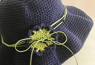 """Čiapky - Indie hat """"Navy"""" - 10929508_"""