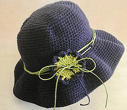 """Čiapky - Indie hat """"Navy"""" - 10929595_"""