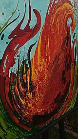 Obrazy - Srdce na dlani a oheň v duši - 10929398_