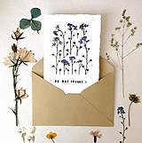 Papiernictvo - Pohľadnica - nezabudni! - 10930839_
