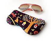 Taštičky - Púzdro na okuliare Farebné so zajacmi - 10931141_