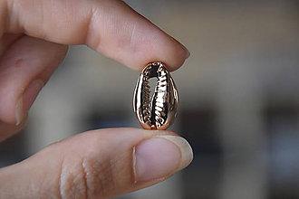 Minerály - 50% zľava - Kauri mušla ružovozlatá, z 0.60 na 0.30€/ks - 10930551_