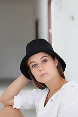 Čiapky - Bucket hat čierny - 10933636_
