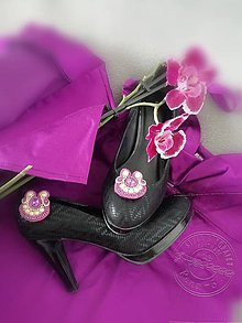 Iné šperky - Klipy na topánky - 10933695_