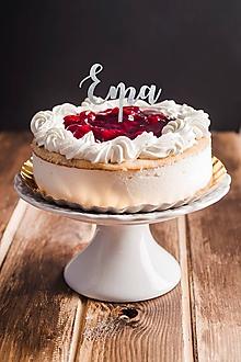 Dekorácie - Zápich na tortu - meno - 10933119_