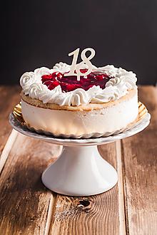 Dekorácie - Zápich na tortu - číslo - 10933749_