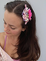 """Ozdoby do vlasov - Kvetinový hrebienok """"Molly"""" - 10935004_"""