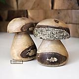 - Hríbik z orechového dreva - 10933274_