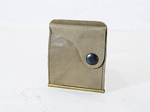 Peňaženky - Kožená dolarovka - vykrojená - 10933930_