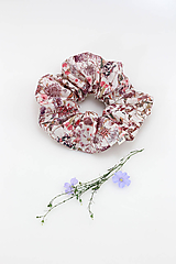 """Ozdoby do vlasov - Blumka - vlasová gumička z kvetinovej bavlny """"WildFlorie"""" - 10933863_"""