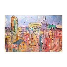 Obrazy - Farebne mesto - 10933893_