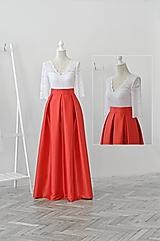 Maxi sukňa s vreckami