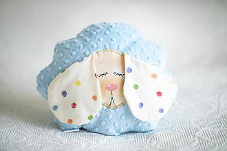 Textil - Detský vankúš - Baby blue Ovka - 10935140_