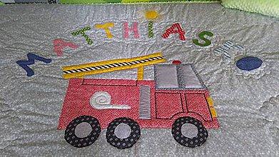 Úžitkový textil - Deka s menom - 10932437_