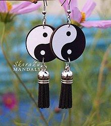 Náušnice - Yin a Yang - 10935324_