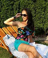 Topy - Kraťasky s letným topom - 10934456_