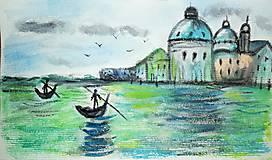 Venezia - Akvarel