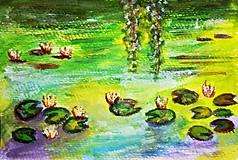 Lekná - Akvarel