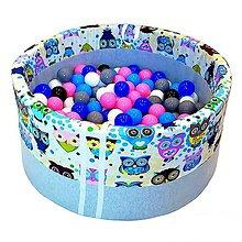Hračky - Suchý bazén BabyBall s míčky - 10933171_
