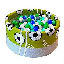 Detské doplnky - Suchý bazén BabyBall s míčky - 10934273_