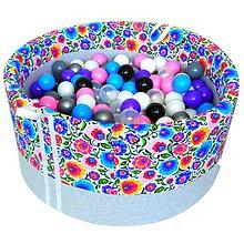 Hračky - Suchý bazén BabyBall s míčky - 10934345_