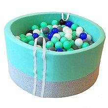 Hračky - Suchý bazén BabyBall s míčky - 10934400_