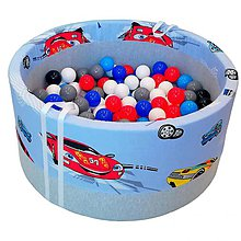 Hračky - Suchý bazén BabyBall s míčky - 10934546_