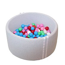 Hračky - Suchý bazén BabyBall s míčky - 10934758_