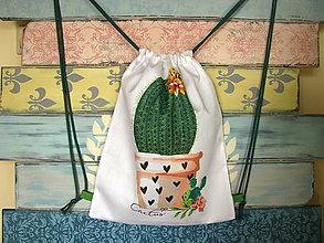 Batohy - Ruksak, batůžek, vak - Kaktus - 10933068_