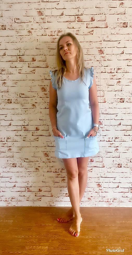 Šaty - Šaty s vreckami - 10933896_