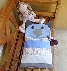 Textil - Macko - pyžamožrút 2 v 1 - 10932895_