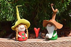Darčeky pre svadobčanov - Trpaslíci Gizelle a Herbert - 10936955_