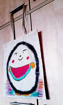 Veľké tašky - Ježko s melónom - 10937477_
