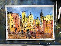 Obrazy - Vysoke domy - 10936244_