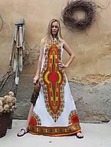 Šaty - AFRIKA - DLOUHÉ MAKENZI ŠATY - 10938377_