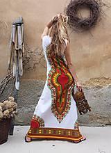 Šaty - AFRIKA - DLOUHÉ MAKENZI ŠATY - 10938378_