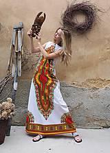 Šaty - AFRIKA - DLOUHÉ MAKENZI ŠATY - 10938379_