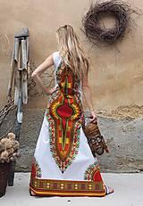 Šaty - AFRIKA - DLOUHÉ MAKENZI ŠATY - 10938383_