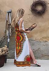 Šaty - AFRIKA - DLOUHÉ MAKENZI ŠATY - 10938384_